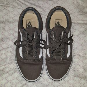 gray old skool VANS